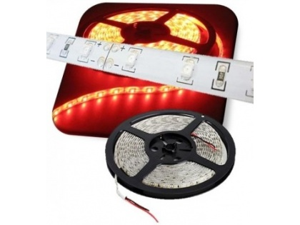 Waterproof ledstrip 10 mm rood 5M 24V
