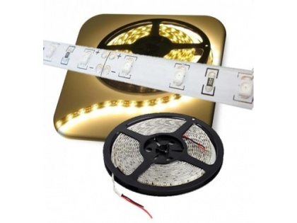 Waterproof ledstrip 10 mm warm wit 5M 24V